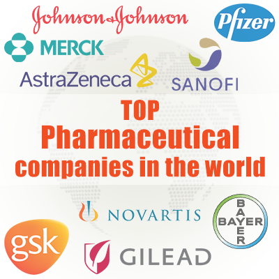 Top 10 Pharmaceutical Companies in the World