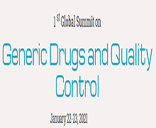 1 st Global Summit on Generic Drugs and Quality Control