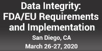 Data Integrity: FDA/EU Requirements and Implementation