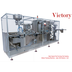 Flat Sealing Blister Packing Machine