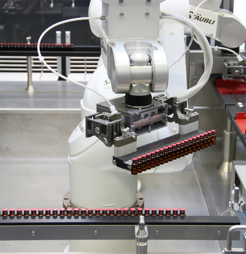 Robotic Technology for Vial Tray