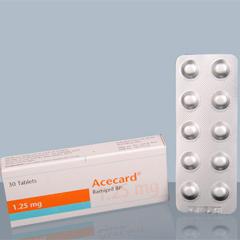 Cardiovascular: Acecard