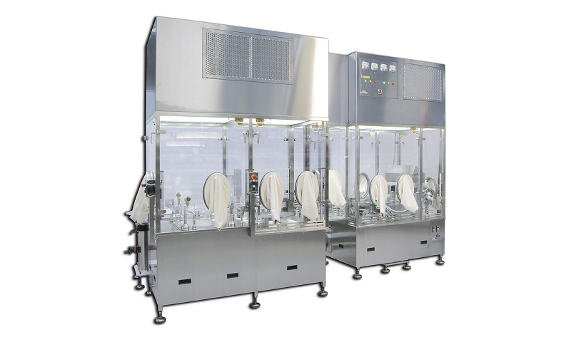 Bulk Syringes Filling and Closing Machine