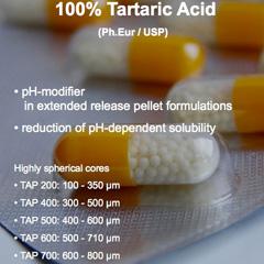 Tartaric Acid Pellet