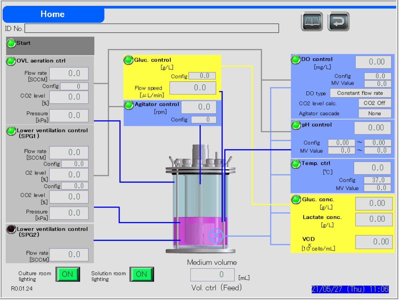 BR1000 Advanced Control Bioreactor System